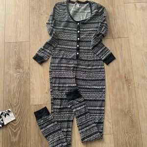 Other - Old navy thermal onesie pajamas